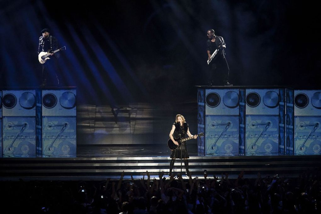 Ramat Gan stadium in Tel Aviv, Israel - May 31, 2012