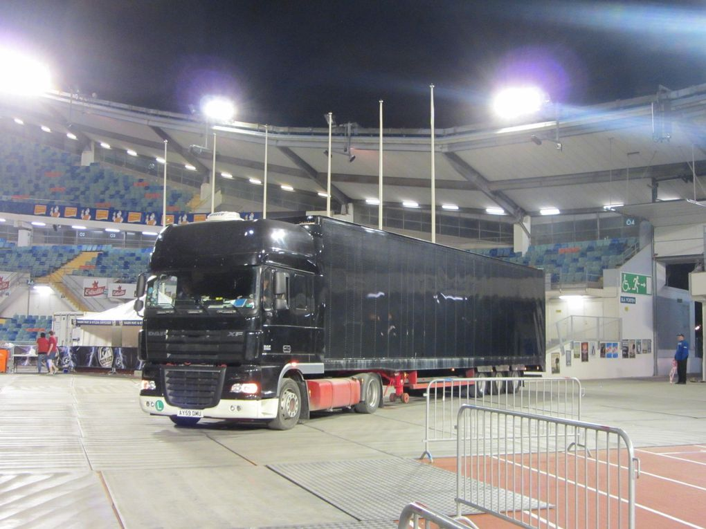 Photos by Ultimate Concert Experience after the show at Ullevi Stadium in Gothenburg, Sweden - July 04, 2012.