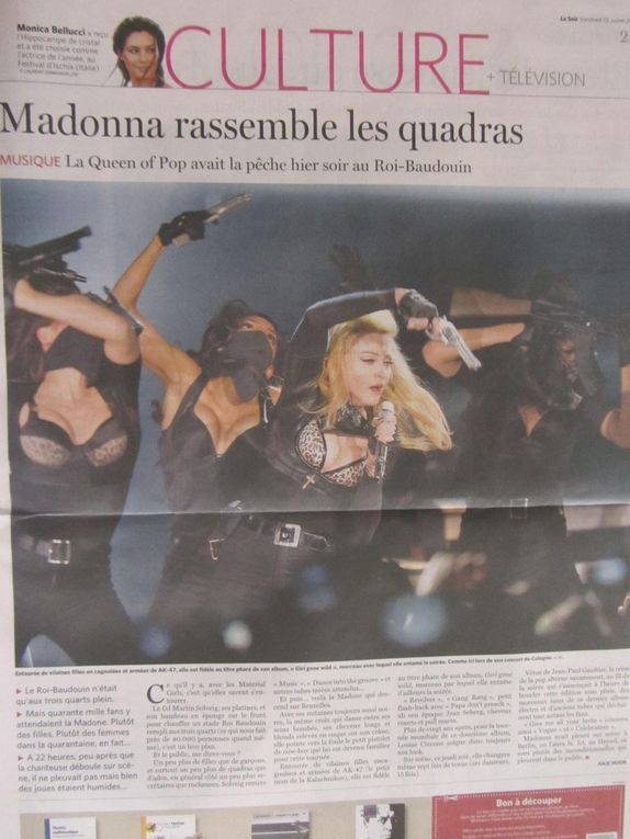 Photos by Ultimate Concert Experience from Stade Roi-Baudoin in Brussels, Belgium - July 12, 2012.