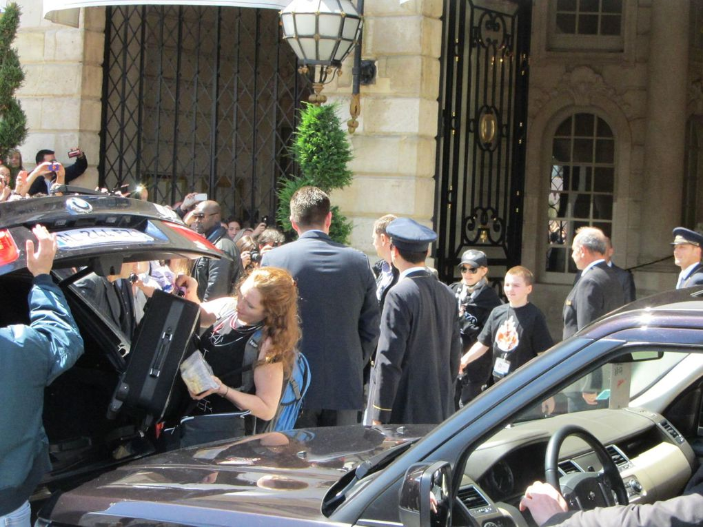 Photos by Ultimate Concert Experience from Stade de France in Paris, France - July 14, 2012.