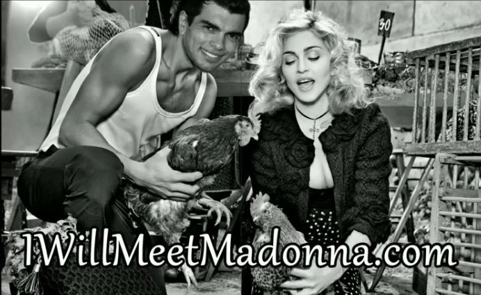 "Brazilian Fabio Viana is a Madonna fan since ""Dress You Up"" in 1985. He lives in Amsterdam, Netherlands. He wants to meet Madonna and also to be guest in one of her next videos."