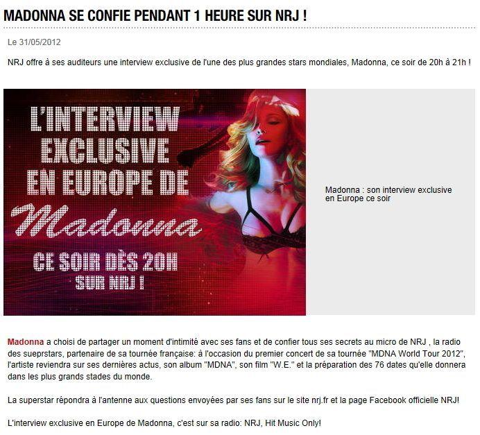 Album - Madonna 2012 MDNA Tour