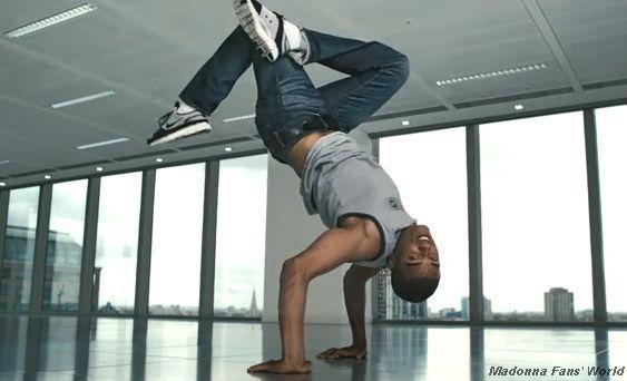 Madonna's French boyfriend Brahim Zaibat dancing
