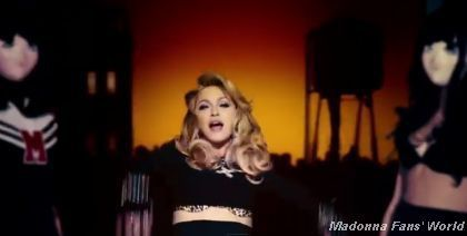 Music video for Madonna's Give Me All Your Luvin' single, featuring M.I.A. and Nicki Minaj. From Madonna's MDNA album. Directed by Megaforce.