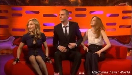 Album - Madonna - The Graham Norton Show - BBC One - 2012