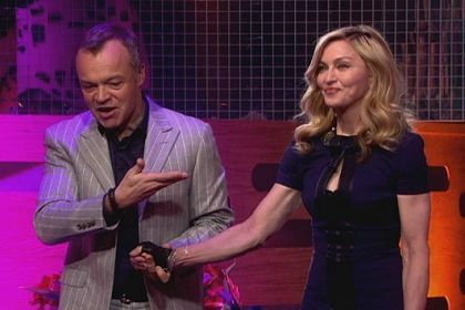 Album - Madonna - The Graham Norton Show - BBC One - 2012