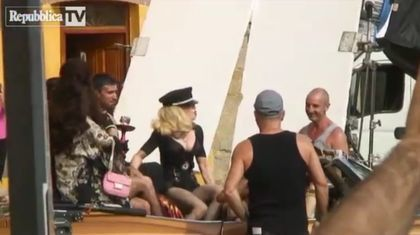 Album - Madonna - ''Turn Up The Radio'' - Video shoot in Florence, Italy - June 18, 2012