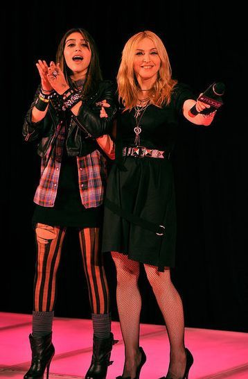 Madonna - Material Girl Dance Party in NY - September 22, 2010