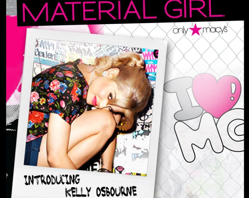 Madonna - Material Girl Spring Collection 2011 at Macy's - Kelly Osbourne