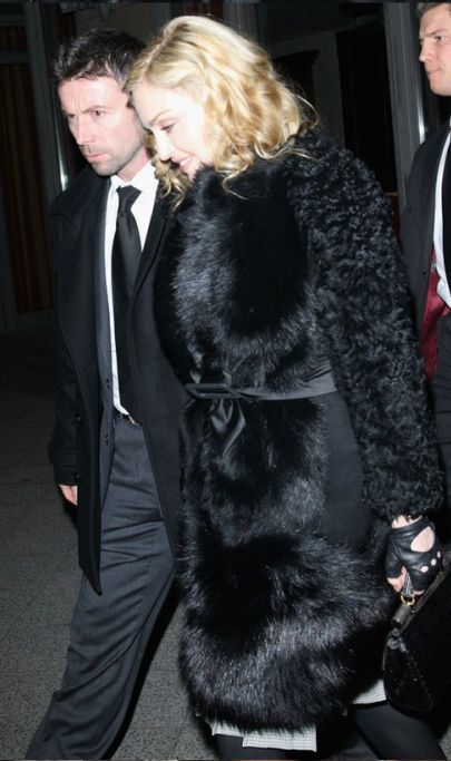Madonna in Berlin with Brahim Zaibat – February 12, 2011