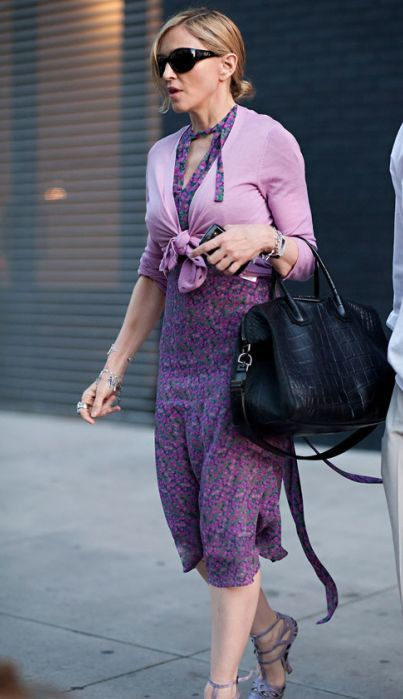 Madonna in New York - May 12, 2011