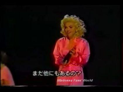 Madonna receives 2 Awards on Japan TV - 1990