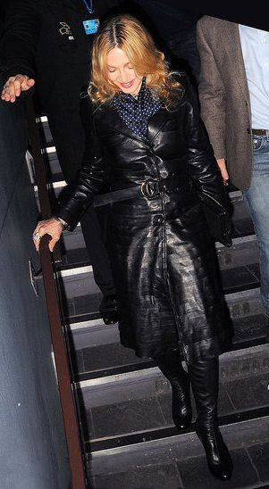 Madonna with Brahim Zaibat in London - October 21, 2010