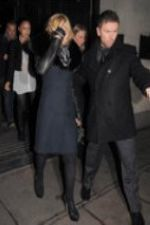 Madonna leaving Wolseley Restaurant in London - December 21, 2010