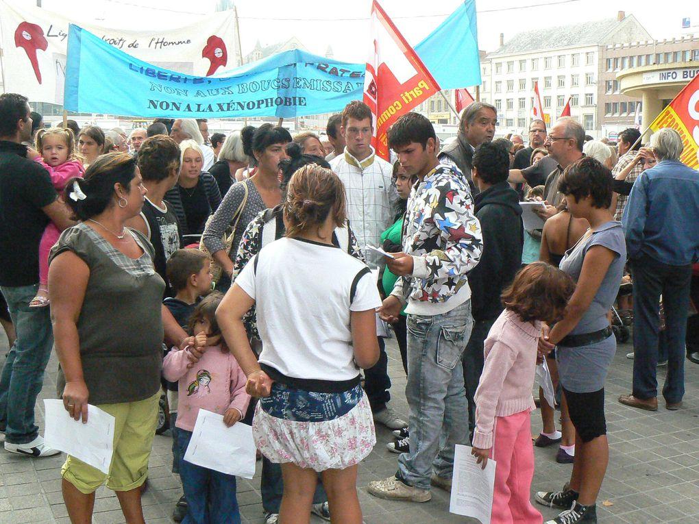 Manifestation du 4 septembre à Niort contre la xénophobie
