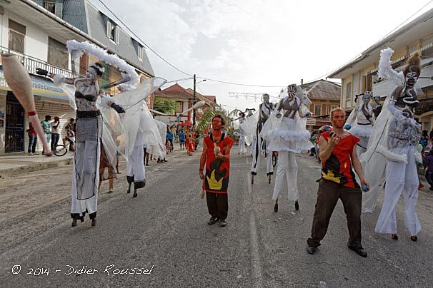 Le carnaval de Guyane l'un des plus longs du monde.