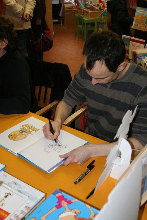 Jacques Azam et Dab's à la librairie Grand Selve de Grenade sur Garonne