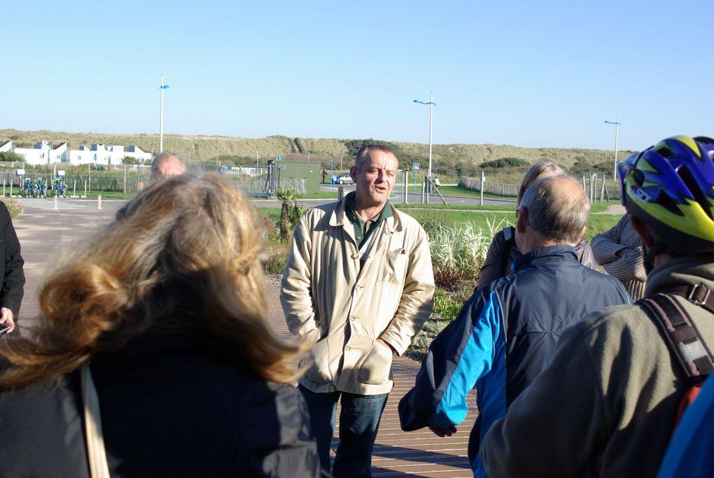 Le dimanche 10 octobre 2010, Naturalistes Sans Frontière organise en collaboration avec le Pays du Calaisis (SYMPAC) et l'Association des Papillons et des Hommes, une matinée de découverte de la nature en ville
