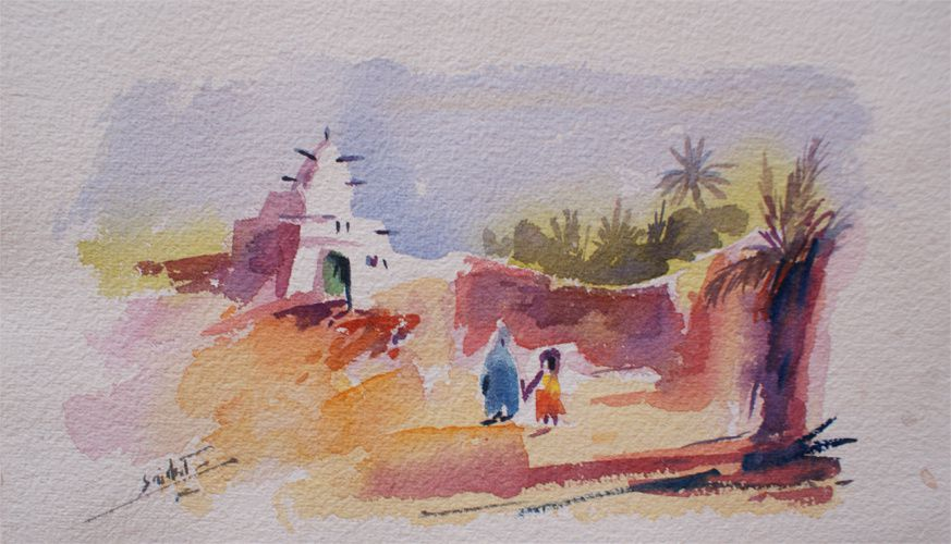 Album - AQUARELLES-LAGHOUAT