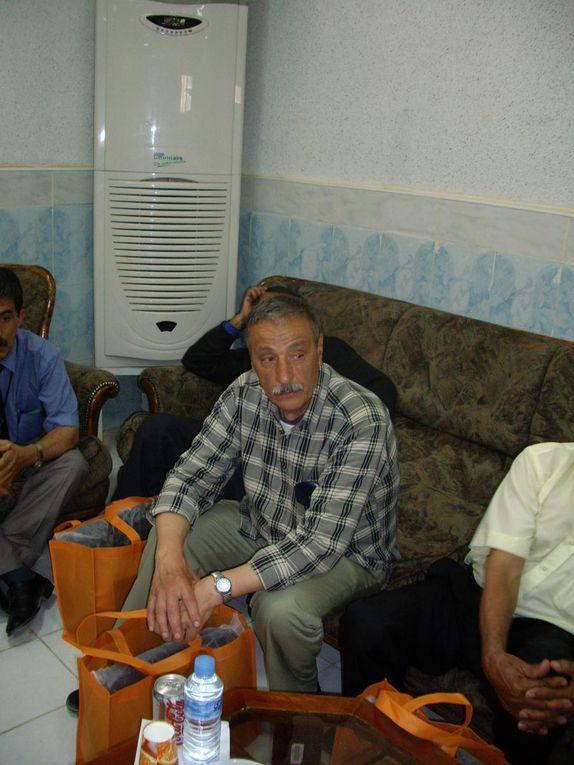 céremonie  en hommage aux retraités de l'institut Naftogaz de Hassi-Messaoud - 1 er Mai 2008-