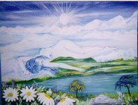 Peinture acryliqueEt des l'âge de 8 ans se passionne pour le dessin la peinture.il 'ya pas eu de beau art, seule l'art, nourri par la passion. Qui ce met au grand jour. A 35 an marie Josée fait un rêve, une vielle homme avec une longue bar