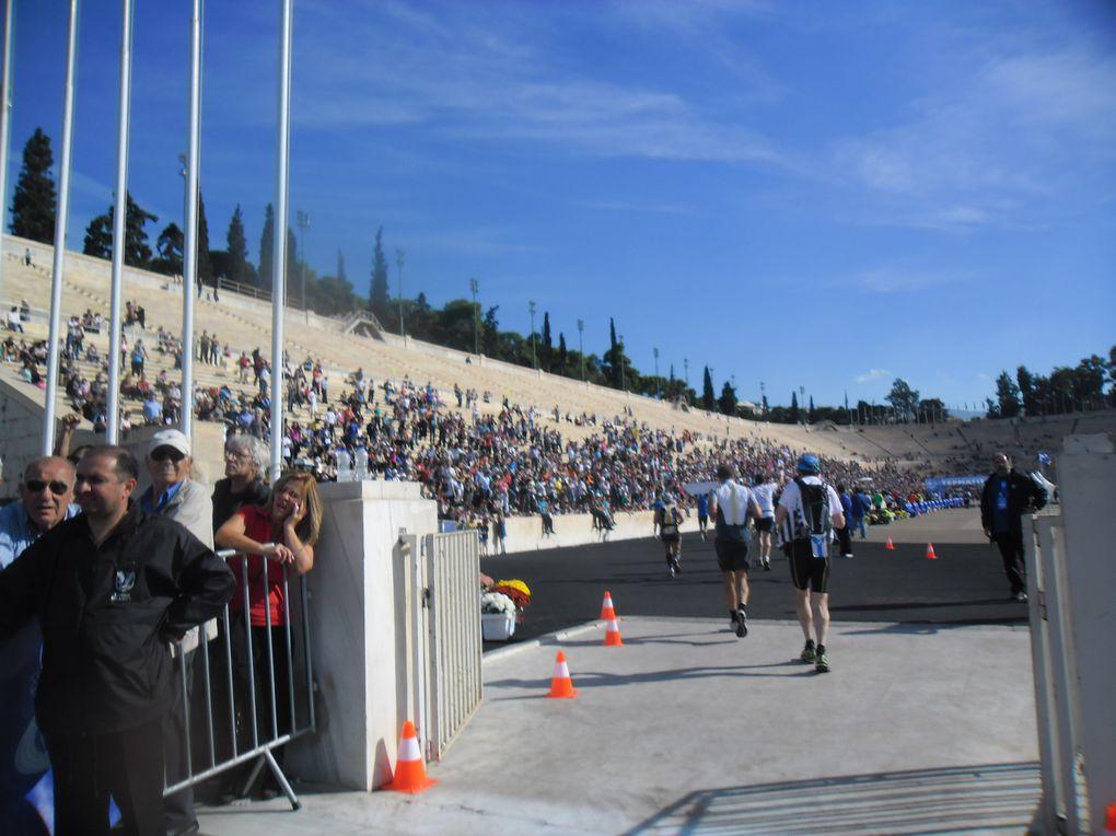 GRECE ... La Kolossale ... Marathon Athènes..