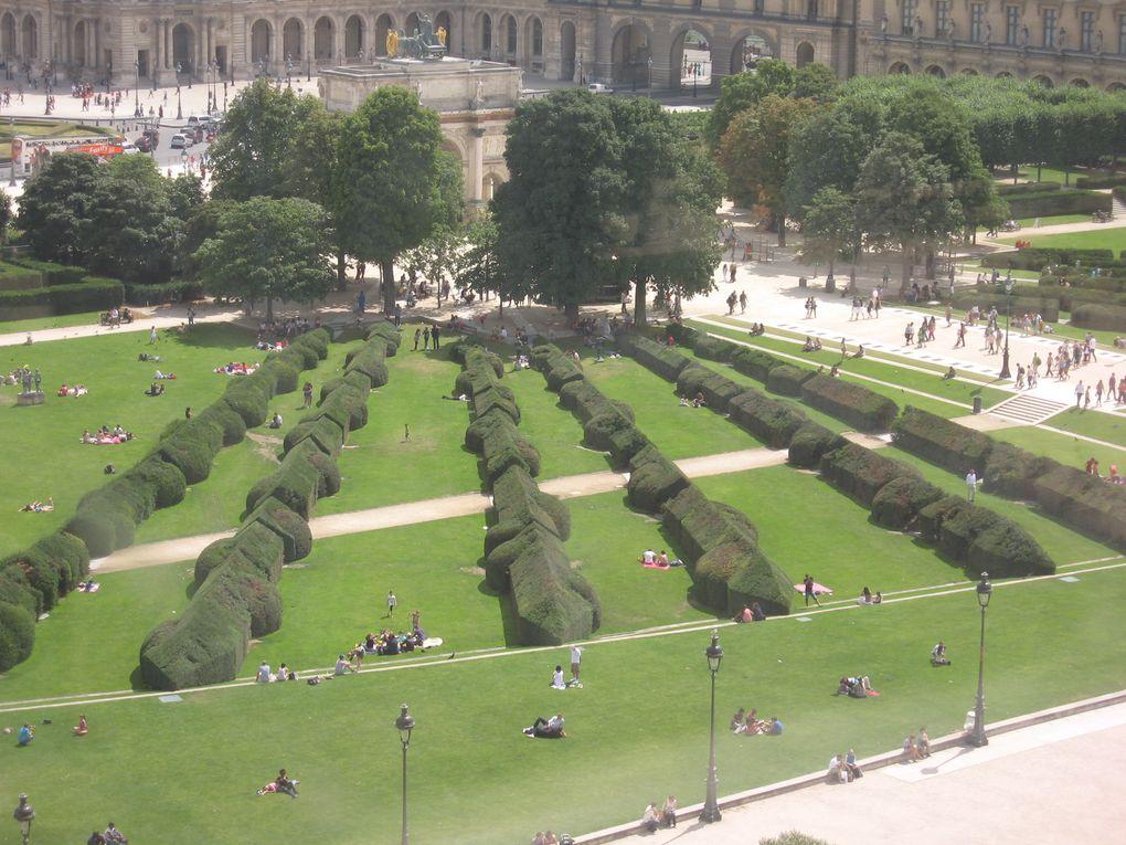 Vues depuis la Grande roue des Tuileries - Eté 2012