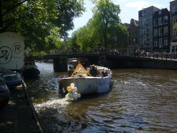 Notre séjour à Amsterdam du 9 au 18 Mai 2008