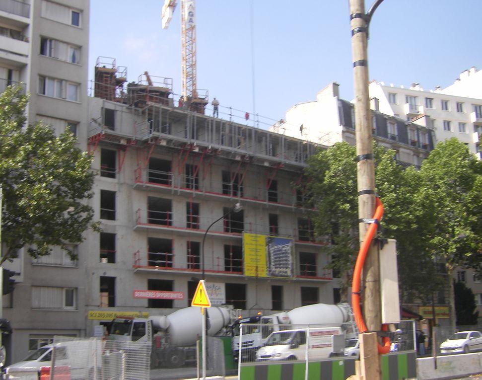 Ce chantier a démarré fin 2008 et la date de livraison n'a pas été rendue publique.L'avancement de ce chantier sera régulièrement comparé à celui d'un programme similaire à ROSNY-SOUS-BOIS