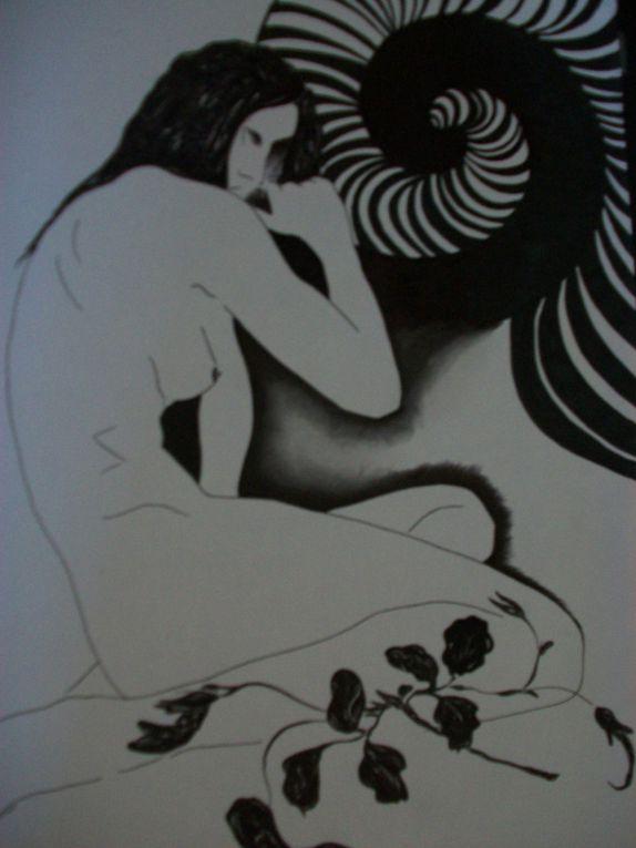 Voici ma passion... Certains dessins vous rappelleront certainement quelqu'un!