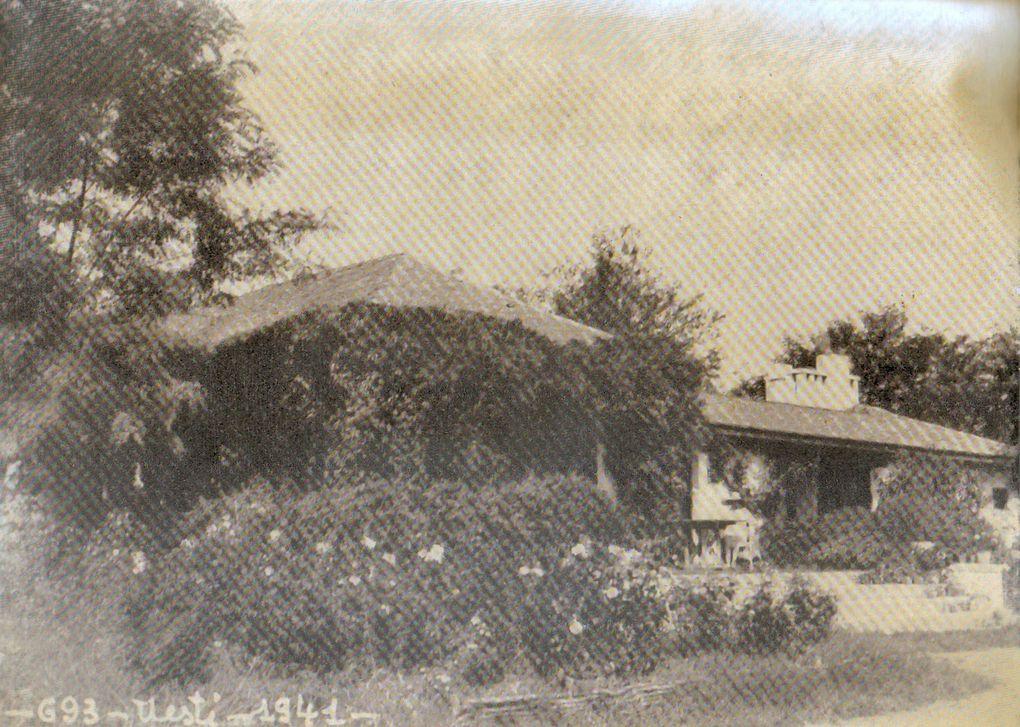 Proprietatea D-nei Lyse SMARANDESCUComuna Bucşani, satul Uieşti. Conacul transformat de Arh. Paul SMARANDESCU (1936-1937).