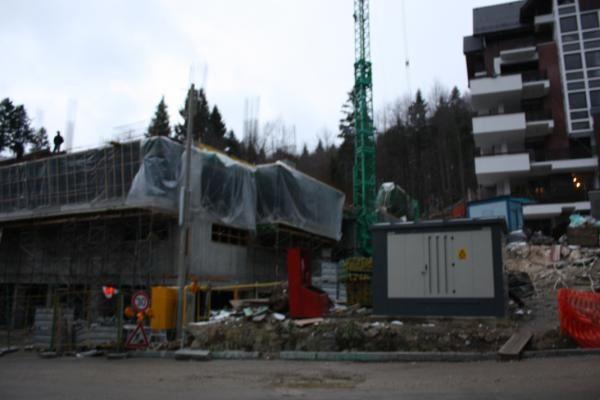 Starea actuala a Vilei Vânàtori Photos: ©E.CRIVAT (08/12/08)