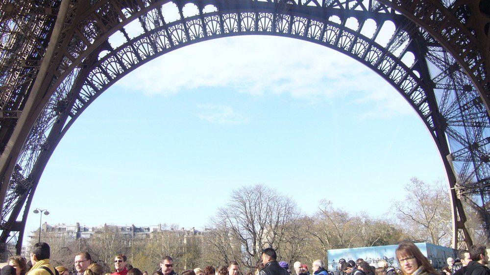Quelques photos de mon week end à Paris. Montmartre, la tour Eiffel et le Louvre