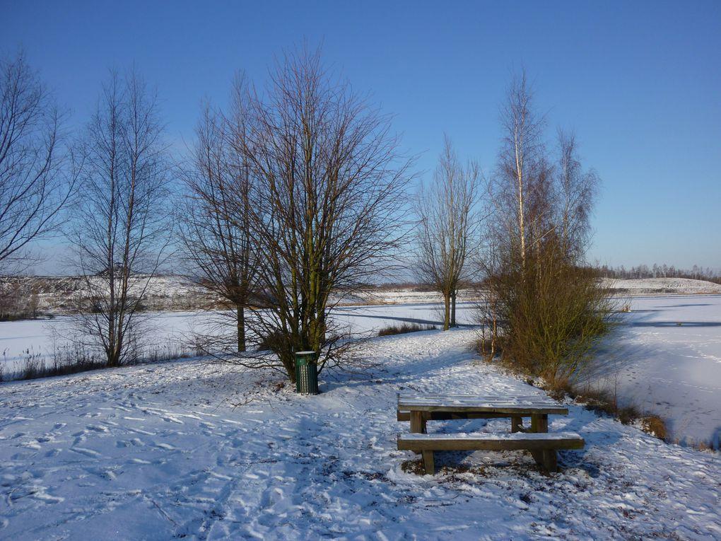 l'hiver sous la neige , les canaux la mer etc..