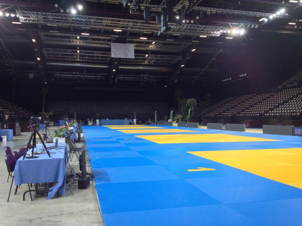 Championnat de France de Judo 1er division à l'ARENA de Montpellier