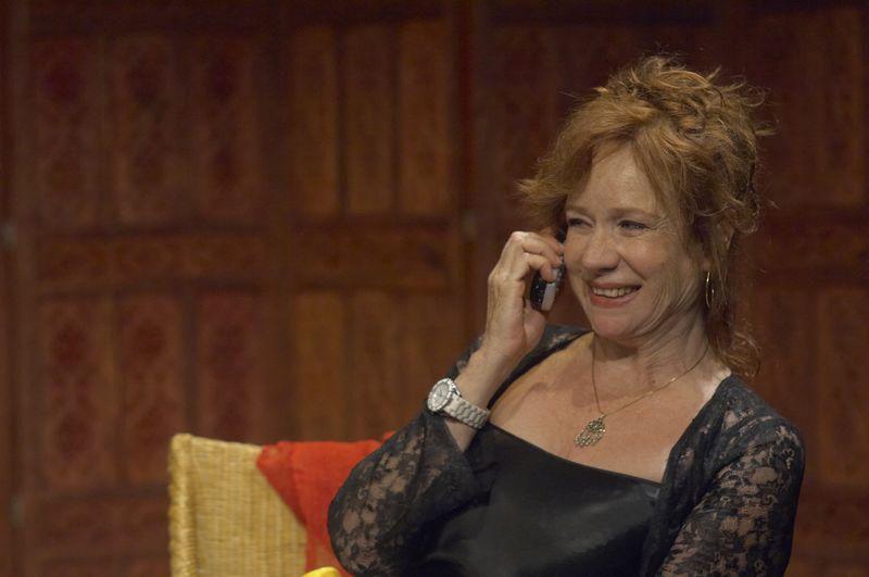 Eva Darlan dans Divins Divans , Les monologues du vagin, La cantatrice chauve (Ionesco), Bains de minuit...