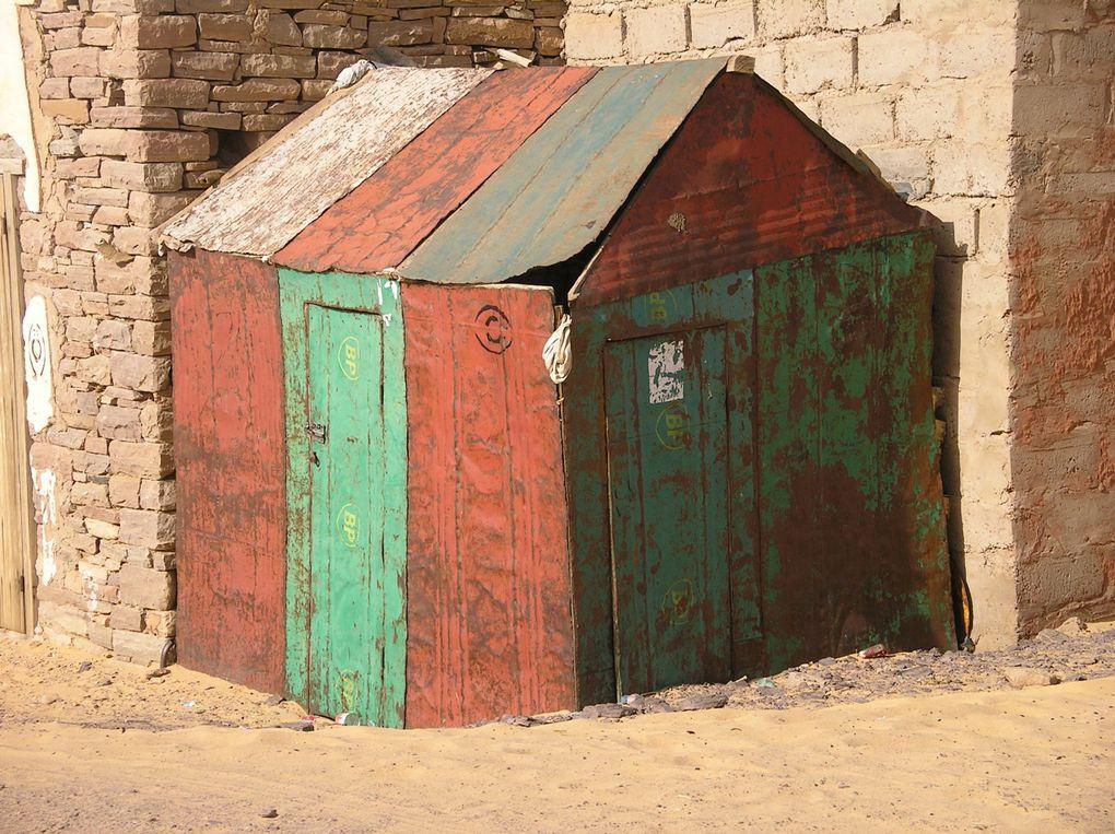 Album - Petites cabanes en tôle en Mauritanie