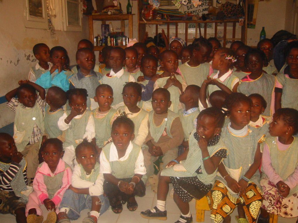 Expérience de bénévolat à Saint Louis du Sénégal dans une école et dans une famille adorable.