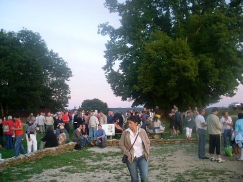Les photos de la soirée du samedi 9 août 2008 à la Tille de Bracon (39).