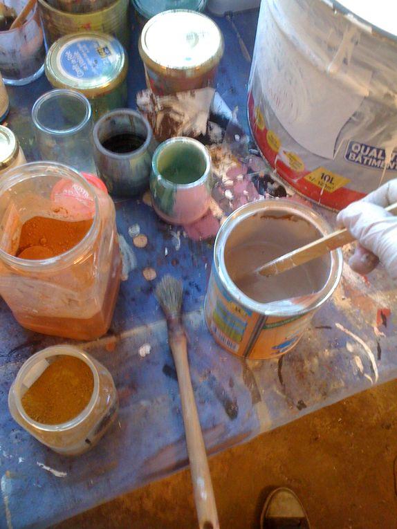 Peintures en trompe-l'oeil sur tous supports...