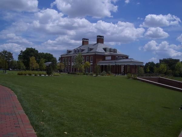 Campus Johns Hopkins University, au nord de Baltimore.