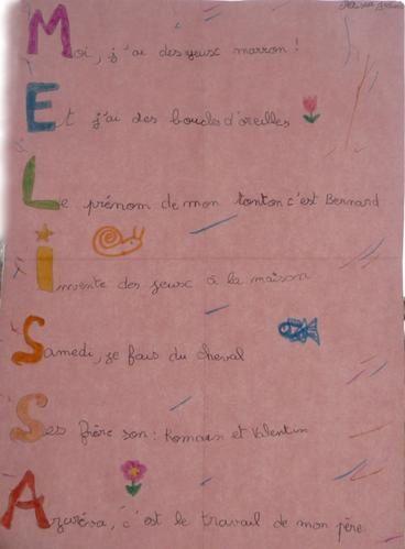 Voici les poésies des enfants des écoles primaires de Fournols, Saint-Amant-Roche-Savine et Saint-Germain l'Herm durant l'hiver 2009.