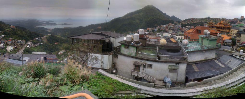 En complément des polaroïdes qui illustrent mes articles, voici un ensemble de prises de vues panoramiques de Taiwan en général, et de Taipei en particulier...