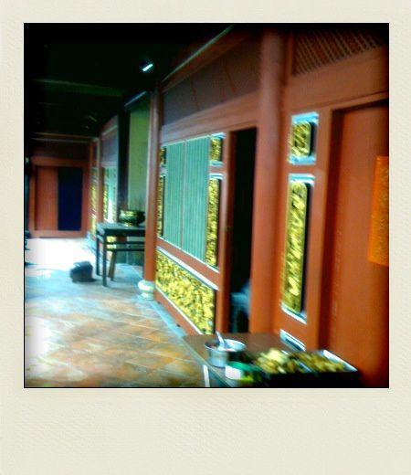 Quelques lieux, quelques moments dans les temples de Taiwan.