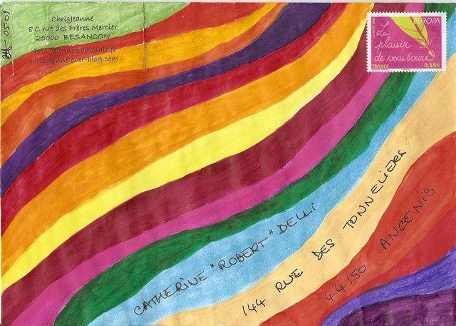 Album - Mail Art 2009 : envoyés