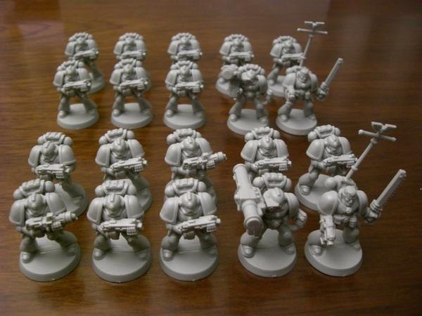 Escouades de space-marines