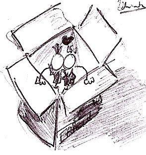 Tous les petits dessins fait par votre hôte qui illustrent le blog. Merci de ne pas copier!