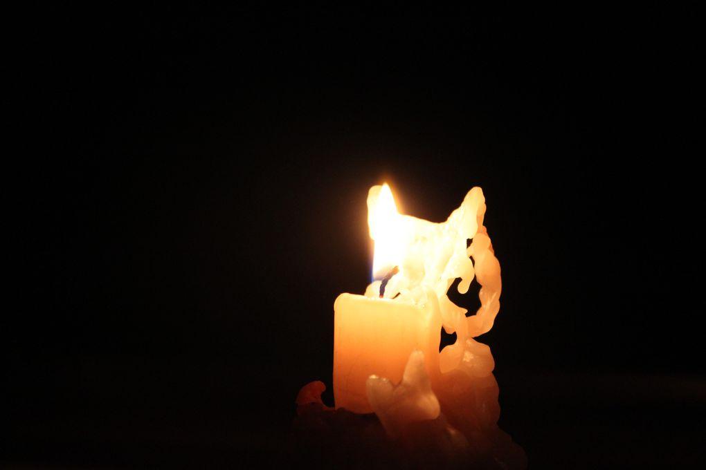 Album - les lueurs des bougies