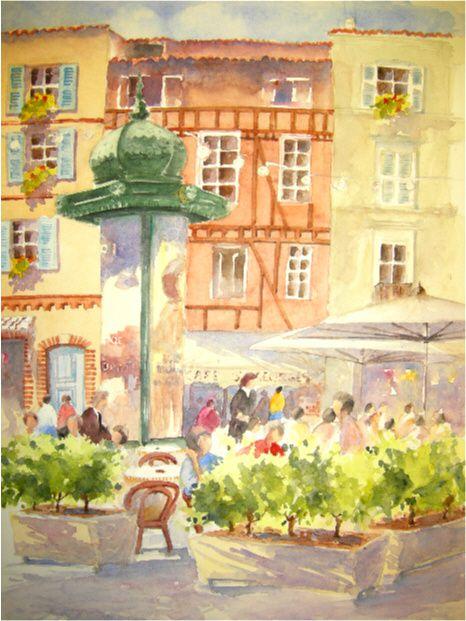 Peintres de la région de Midi-Pyrénées.