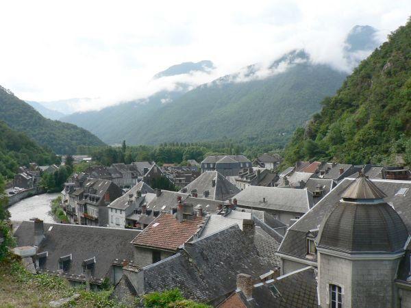 Village de la Haute-Garonne, proche de la frontière espagnole dans le Val d'Aran.